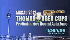 Piala+Thomas+Uber+2012+Macau