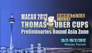 Piala+Thomas+Uber+2012+Macau