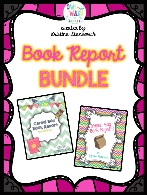 http://www.teacherspayteachers.com/Product/BlackFriday14-Book-Report-BUNDLE-1582147