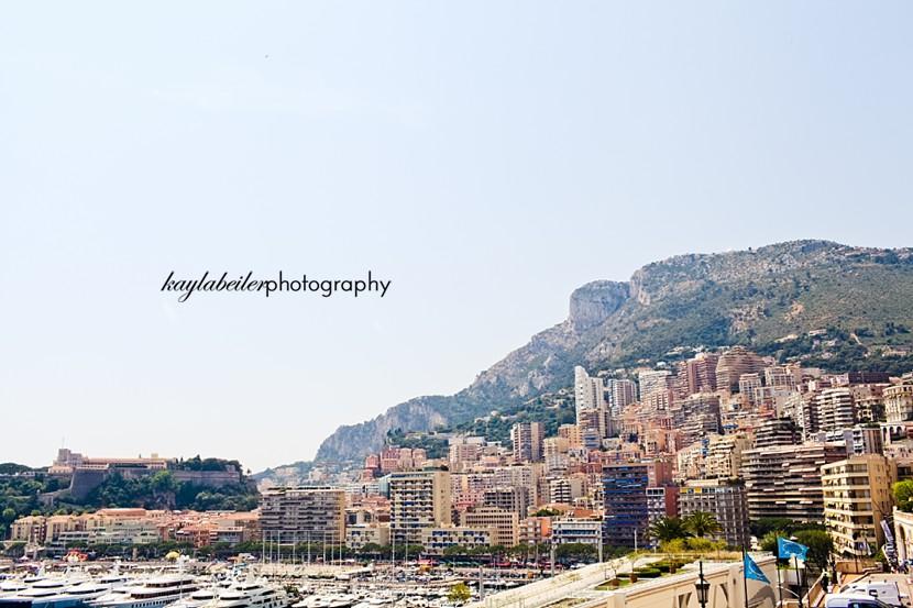 monaco skyline photo