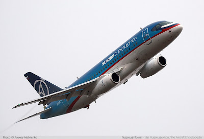 Kecelakaan Pesawat Sukhoi Superjet 100, sukhoi superjet 100