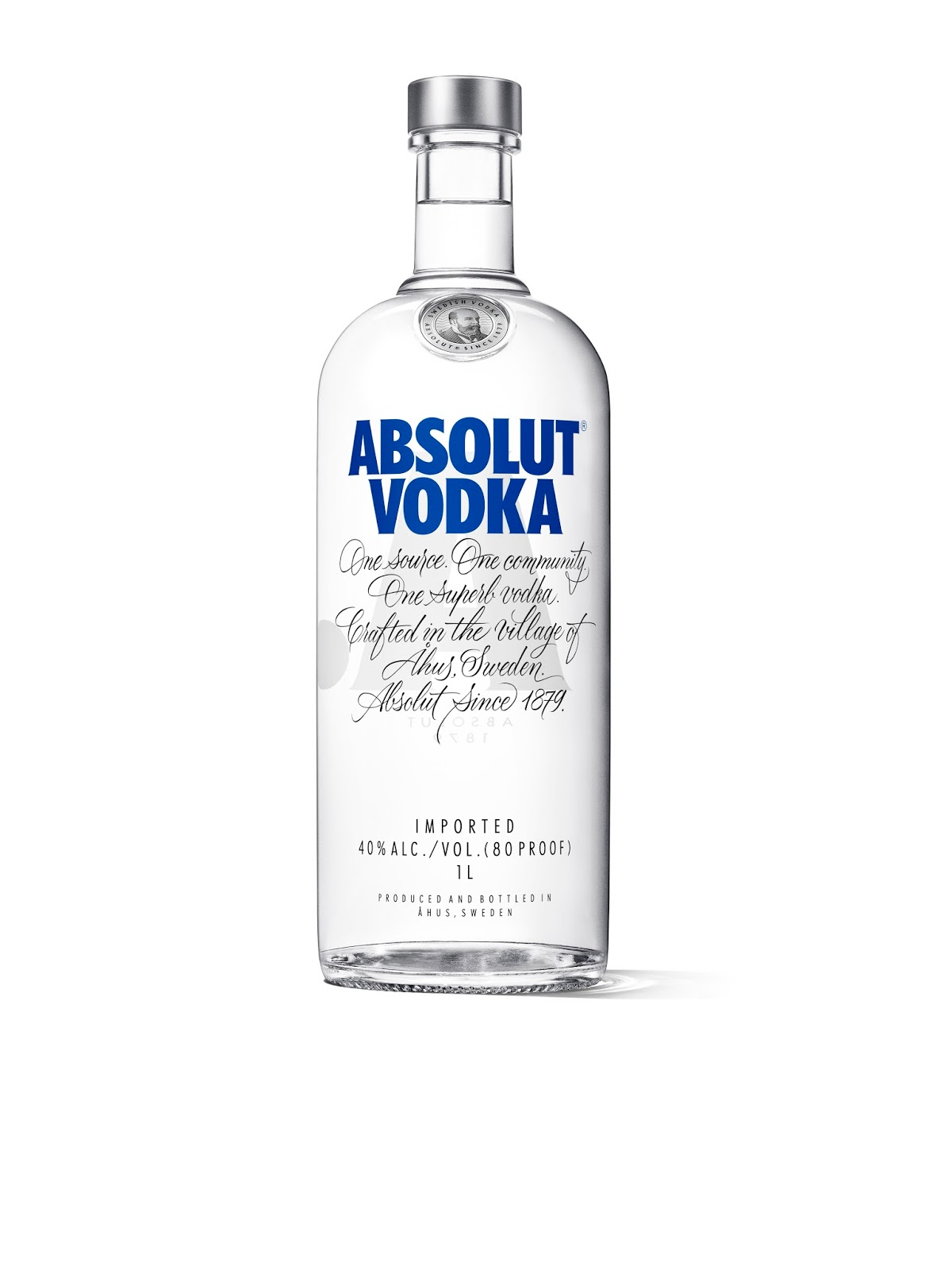 Absolut Redesigned Bottle on Packaging of the World ...