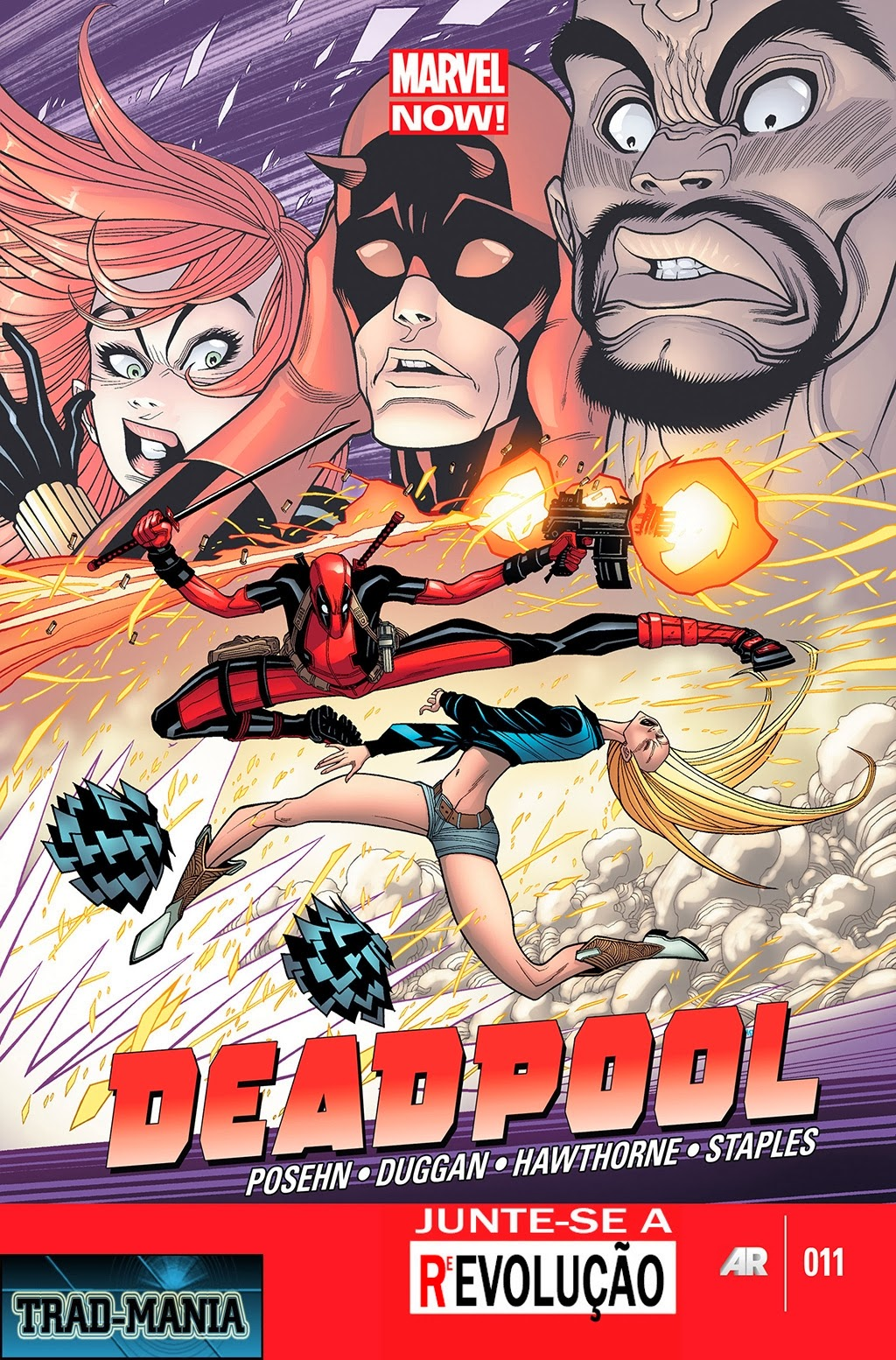 Nova Marvel! Deadpool v5 #11