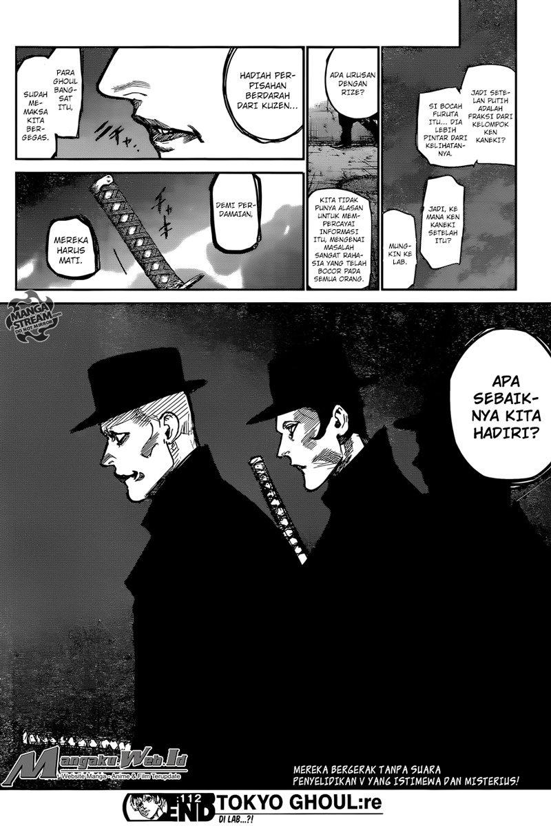 Tokyo Ghoul:re Chapter 112-18