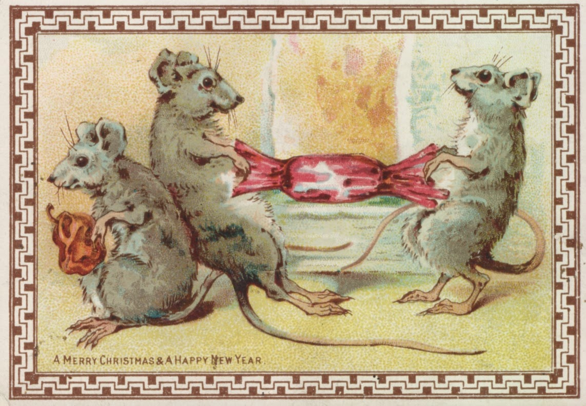 day 9 12 days of victorian christmas cards