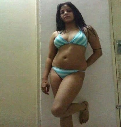 Desi Indian In Home Bikini Images Hot body Figure