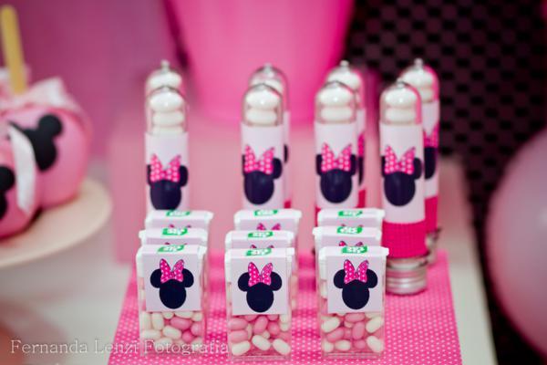 Mesa de dulces Minnie