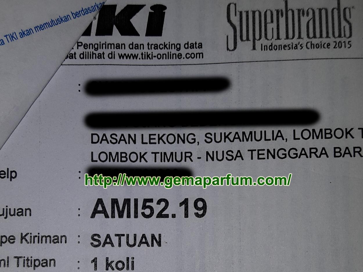 Pengiriman Parfum ke Lombok