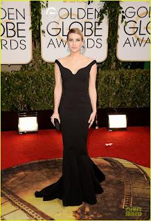 Emma Roberts Golden Globes