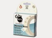 Клеевые точки постоянной приклейки MEMORY BOOK, Glue Dots, арт.RTDEMEMO300 (001993)