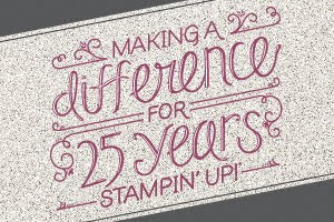 Happy 25th Anniversary Stampin' Up!
