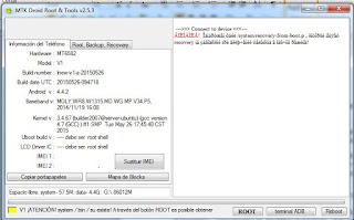 Root  en  Android con MTK Droid  Tools