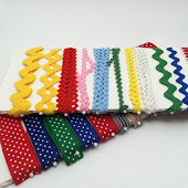 Organize Your Ribbons & Trims on Foam Core