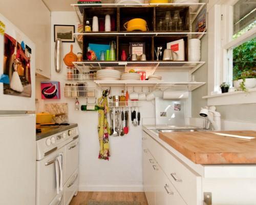 cozinha pequena 40 id ias de como usar as paredes para otimizar o