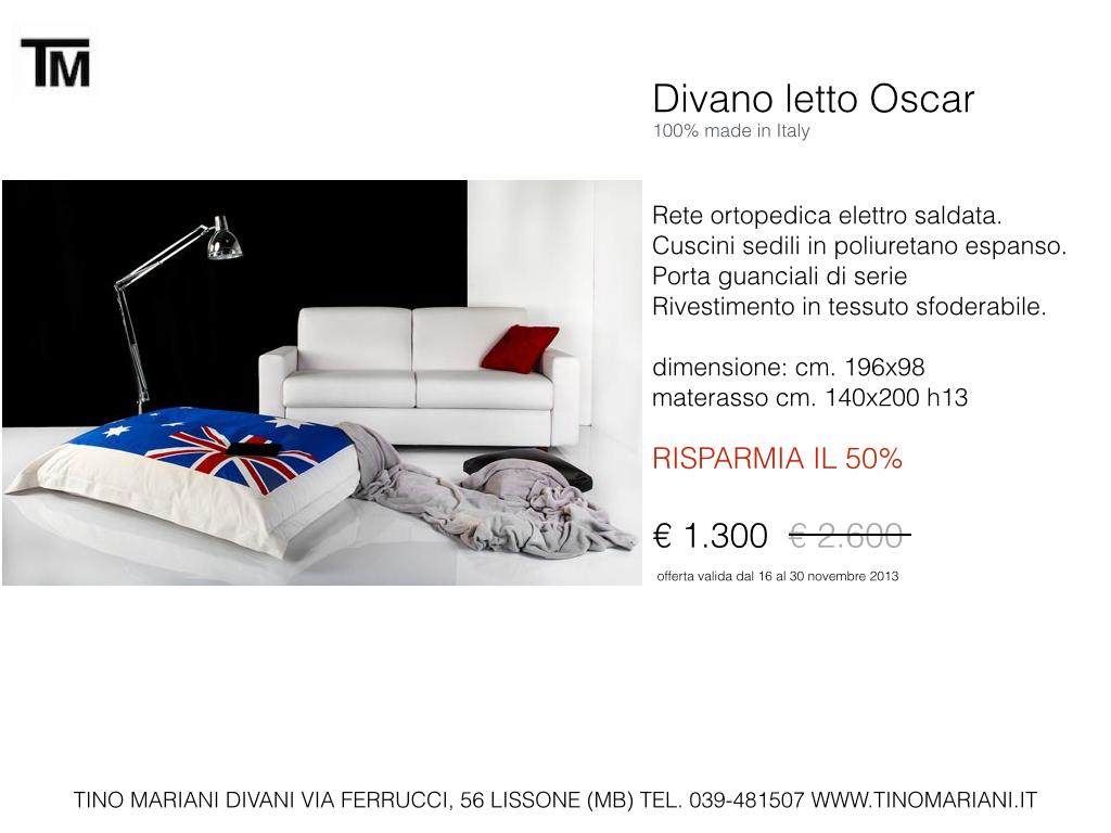Divani blog tino mariani divani in promozione tino mariani - Trasformare un divano fisso in divano letto ...