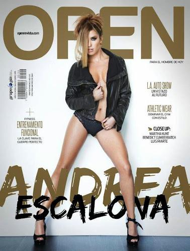 FOTOS: Andrea Escalona Revista Open México - Enero 2015
