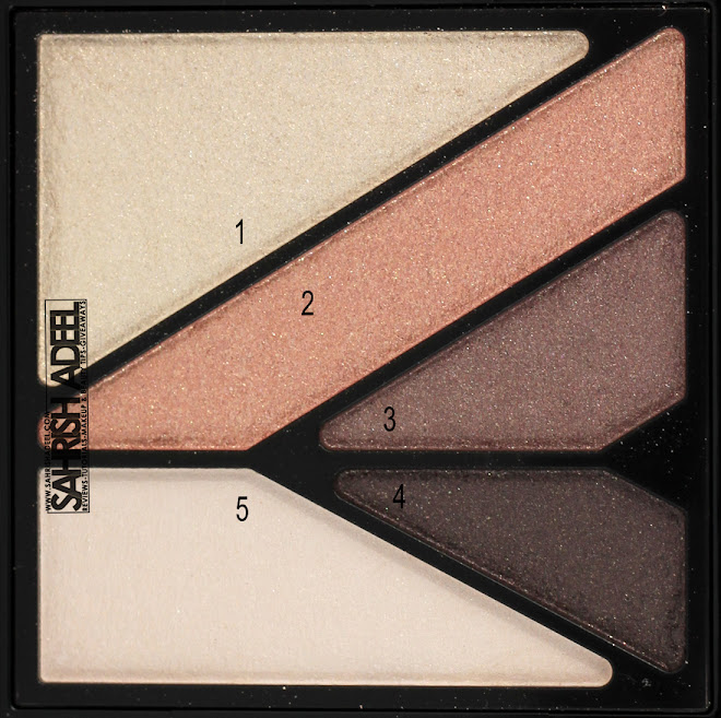 Kate Wide Edge Eyes Eye Shadow Palette in 'BR-1' - Review & Swatches