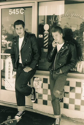 what a beautiful feeling: Greasers