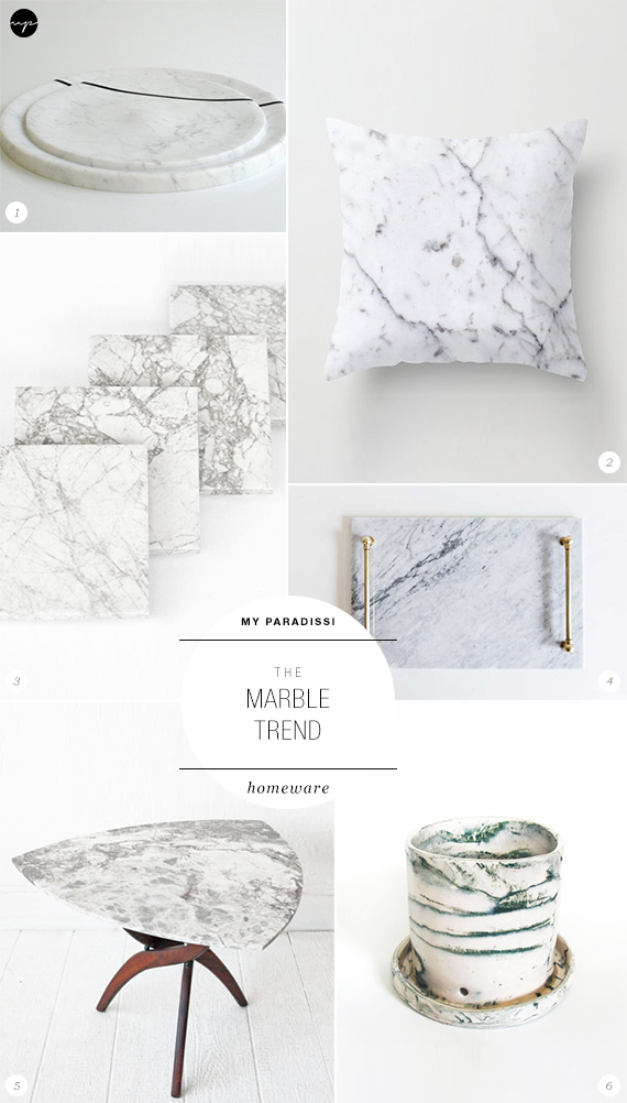 The Marble Trend | Homeware