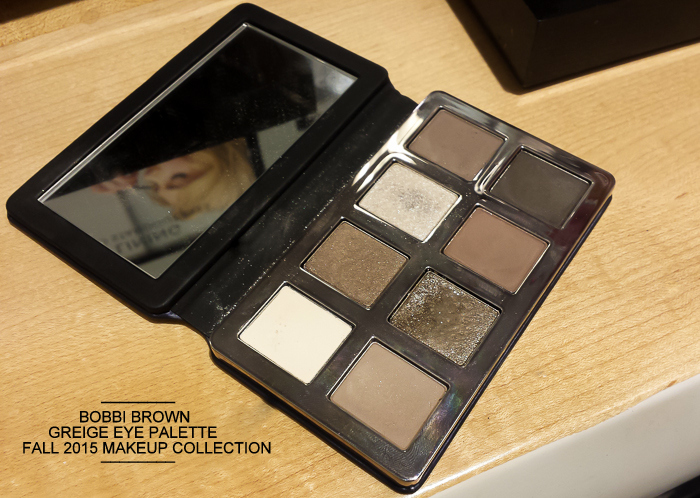 Bobbi Brown Greige Eyeshadow Palette - Fall 2015 Makeup Collection - Swatches