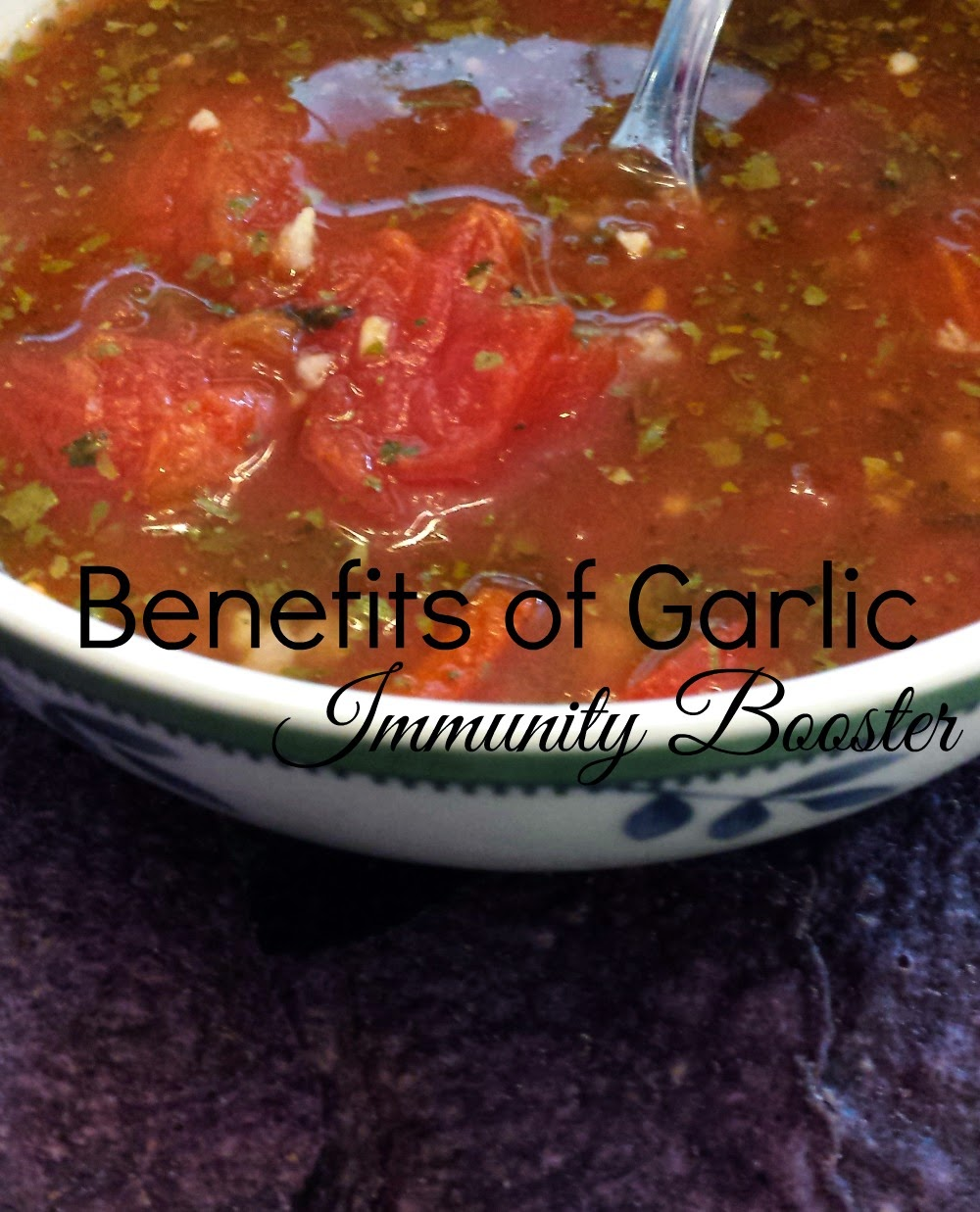 Beth Shaw's, author of YogaLean, recipe for immunity soup