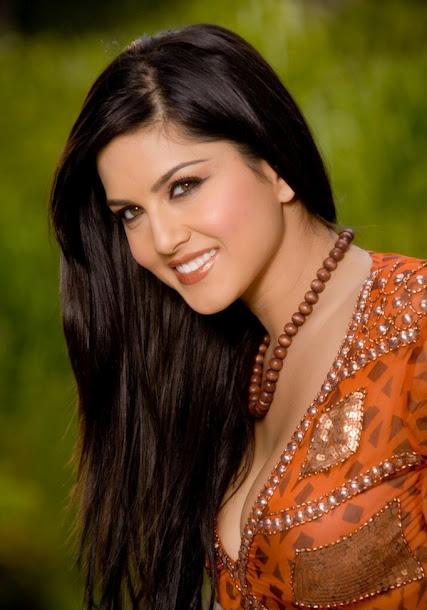 Sunny Leone Photoshoot in Indian Orange Kurti and High boots