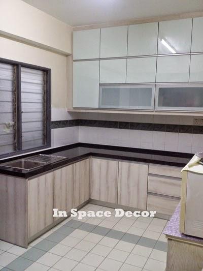 Kitchen Cabinet install in Chancellor Condominium Taman Kosas Ampang