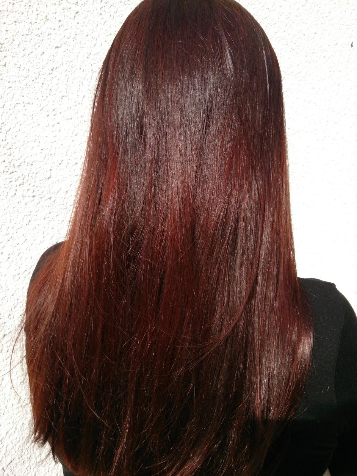 Couleur Cheveux Brun Reflet Acajou Crafts