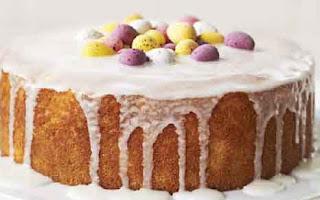 Lemon and orange cake