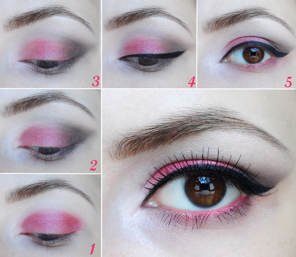romantic makeup tutorial, makeup for a date, pink makeup