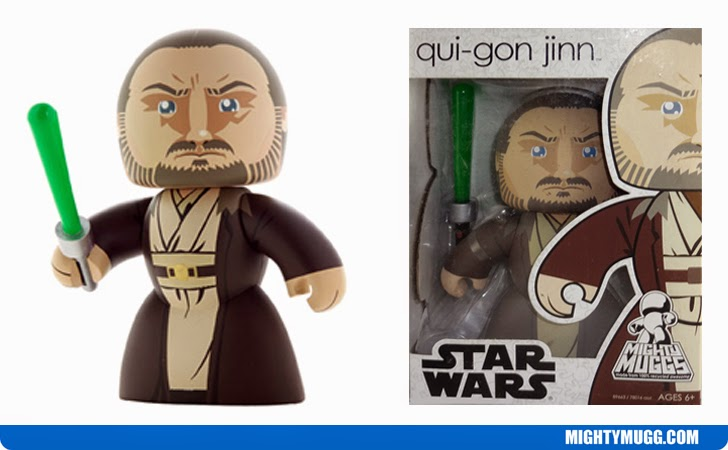 Qui-Gon Jinn Star Wars Mighty Muggs Wave 8