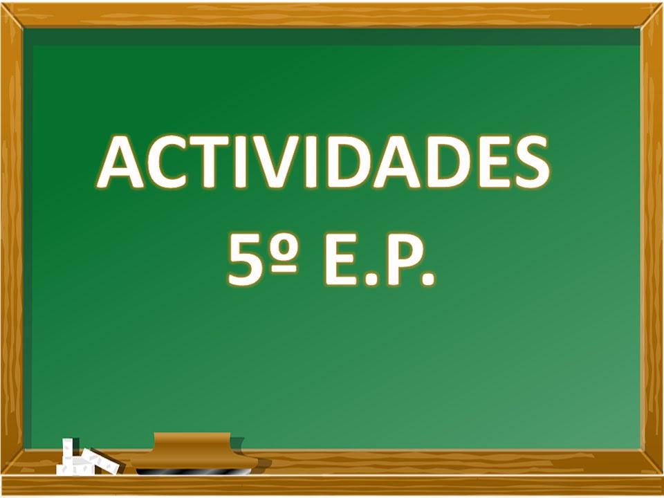 Actividades 5º