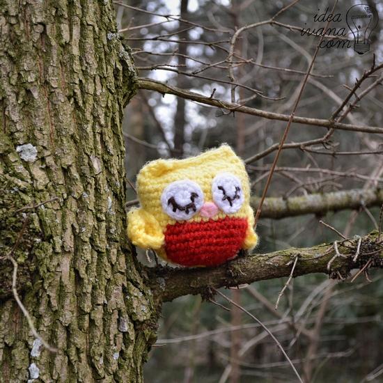 crochet owl pattern free