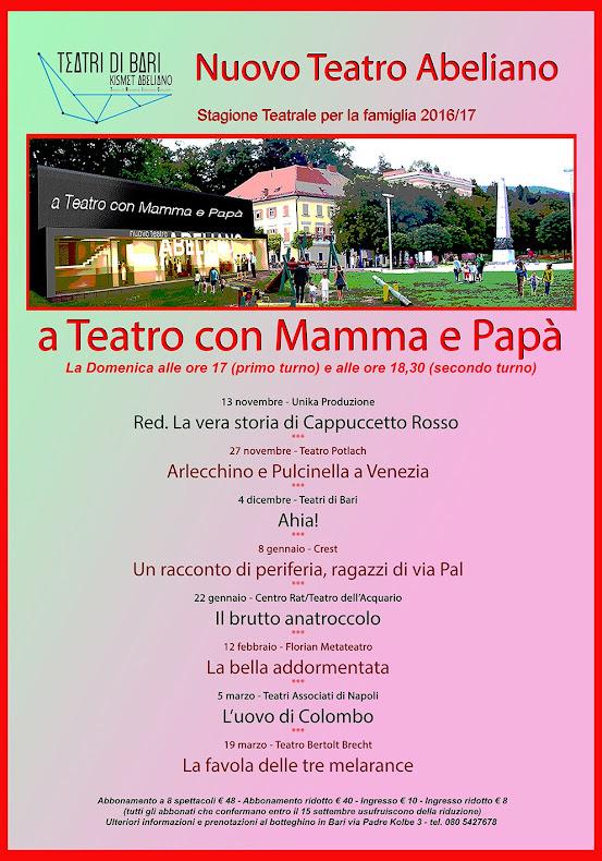 A Teatro Con Mamma&Papà