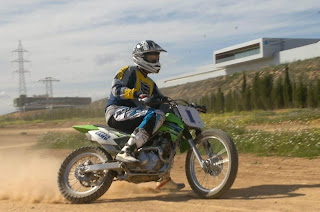 dirt track en el noyes camp aragon