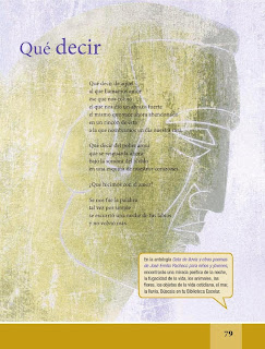 Apoyo Primaria Español Lecturas 6to Grado Xi guininu (Zapoteco del Istmo)/Qué decir