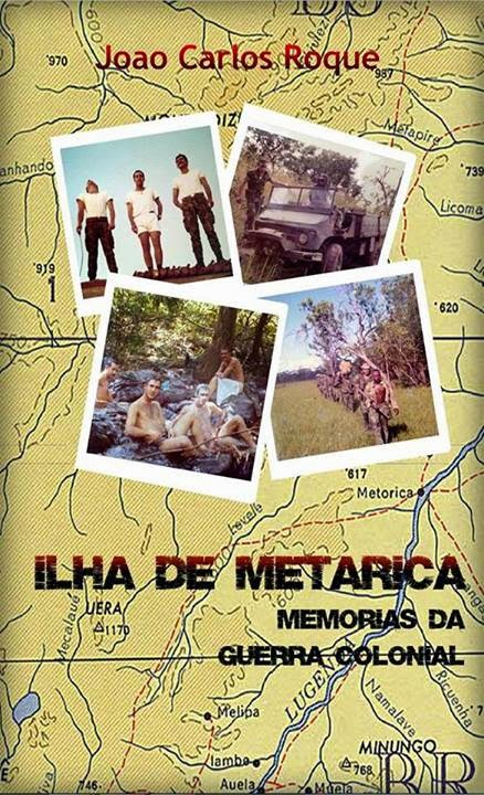Ilha de Metarica - Memórias da Guerra Colonial, João Carlos Roque, Index ebooks