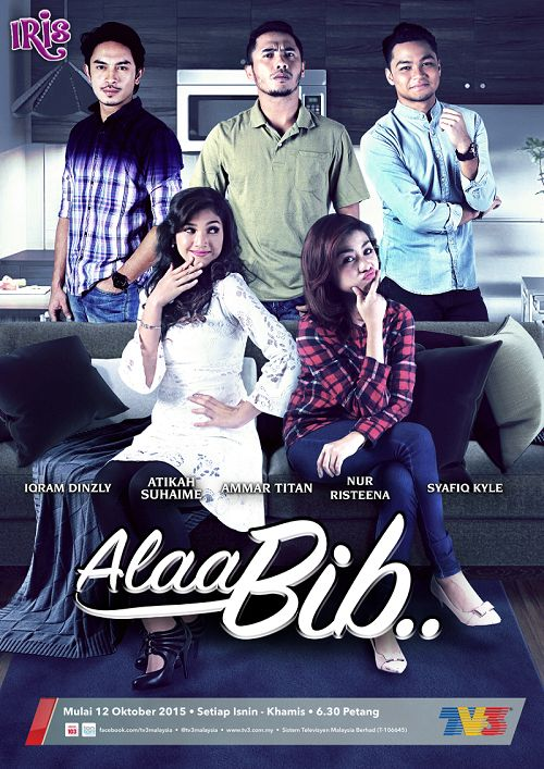 Sinopsis Alaa Bib drama tv3 slot iris, pelakon dan gambar drama Alaa Bib tv3, ost lagu tema drama Alaa Bib tv3