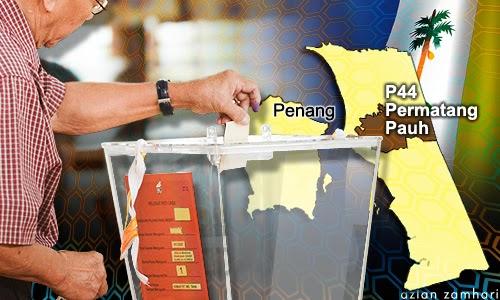 PRK Permatang Pauh 25 Pusat Mengundi Mula Dibuka Pagi Ini