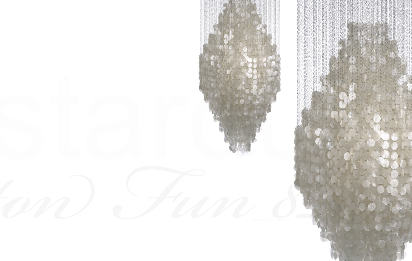 Large modern chandeliers 8 dm extra large chandelier from verner large modern chandeliers 8 dm extra large chandelier from verner panton with 1000s of capiz shells white arubaitofo Image collections