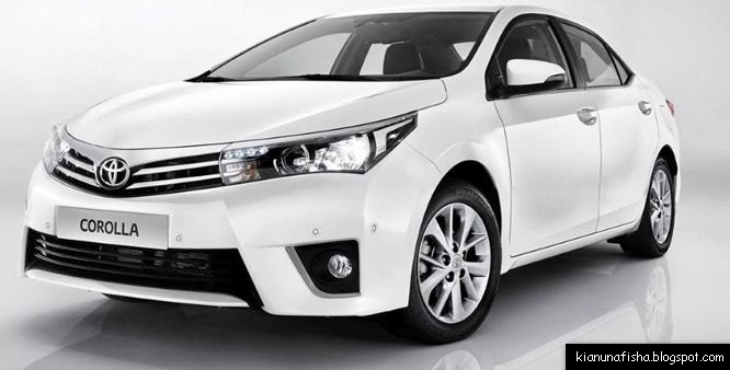 All New Corolla Altis 2014 Facelift Indonesia