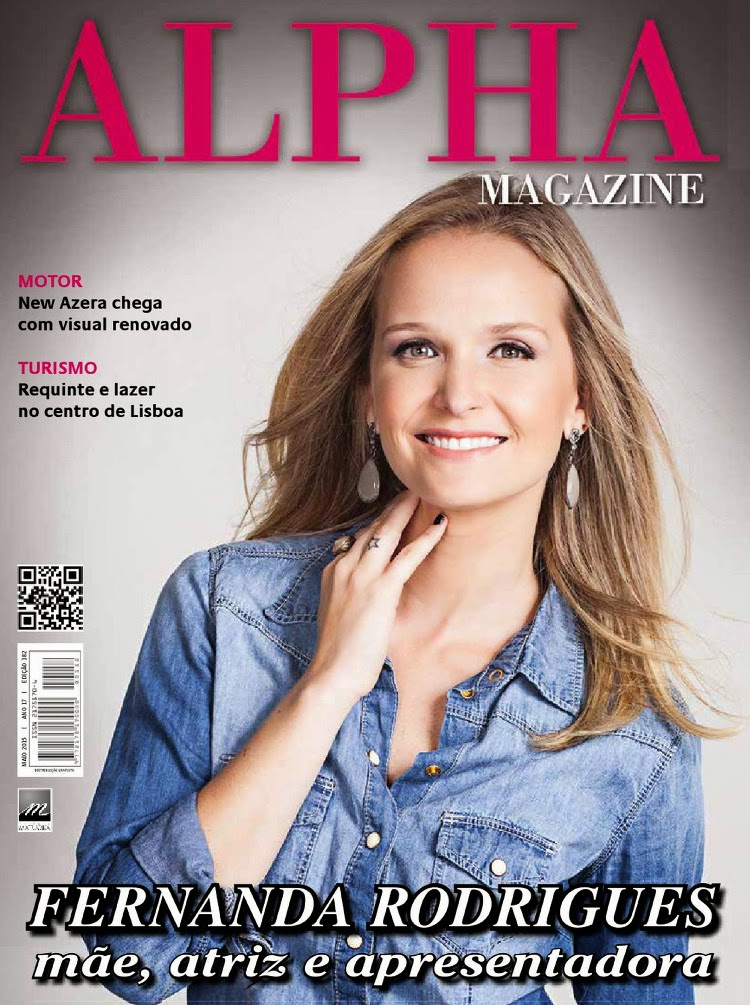 Actress @ Fernanda Rodrigues - Alpha Magazine, May 2015