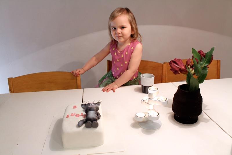 talking tom Birthday cake
