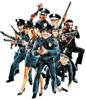 Policias listos para la acción
