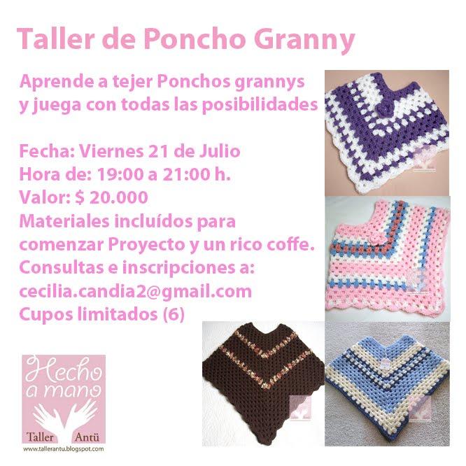Taller Crochet Ponchos