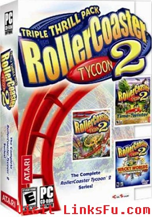 RollerCoaster Tycoon 2 Triple Thrill Pack GoG Edition