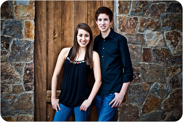 sister and brother photograph