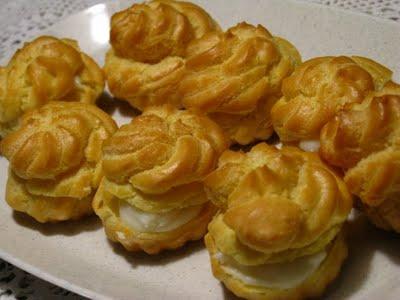 Resep Dan Cara Membuat Kue Sus Kering vVla Buah Mini