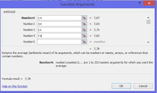 gambar fungsi argument average