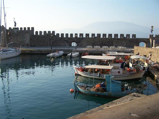 İnebahtı, liman ve kale